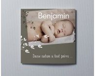 Faire-part de naissance photo Benjamin