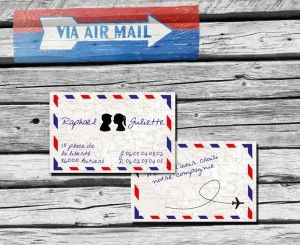 Carte d'invitation ByMail