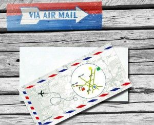 Faire part mariage voyage ByMail