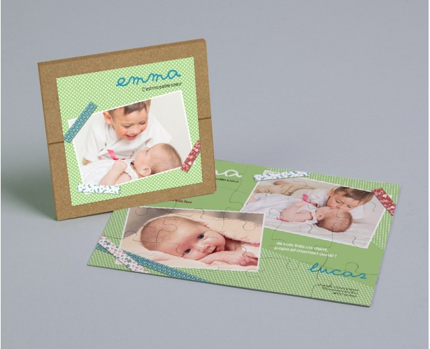 Faire Part De Naissance Scrapbooking Goodies