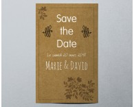Save The Date mariage kraft Paname 3