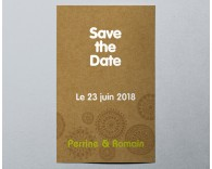 Save The Date mariage vintage pochette 3