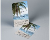 Save The Date mariage photo paysage Atoll 1