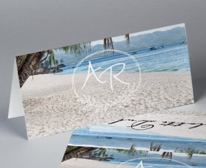 Marque place vintage photo paysage Atoll 2