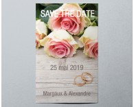 Save The Date mariage romantique 3