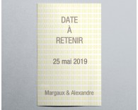 Save The Date mariage romantique 4