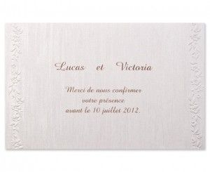 Carte mariage Promesses