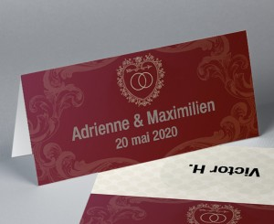 Marque place passeport Nuptial