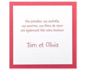 Carte mariage Familly