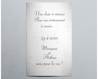 Save the date mariage dessin Tattoo