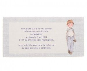 Invitation communion Maxime