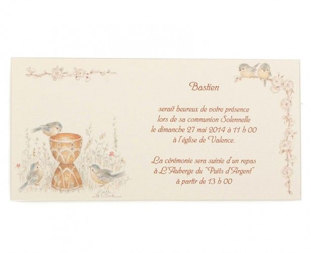 Invitation communion 44110620