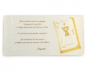 Invitation communion Augustin